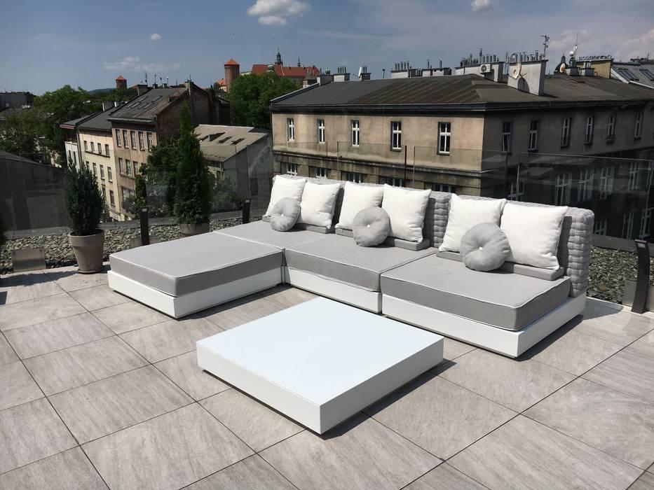 Cheap divano da esterni design moderno tender cuscini arredo inclusi giardino in stile in stile - Giardino moderno design ...