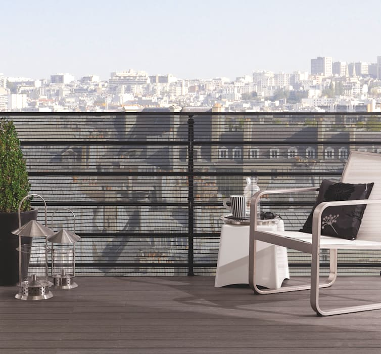 brise vue citynet de la marque nortene terrasse de style. Black Bedroom Furniture Sets. Home Design Ideas