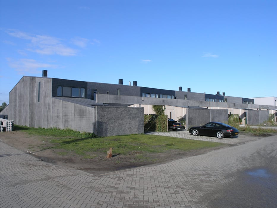 TEKTON architekten Minimalist garage/shed