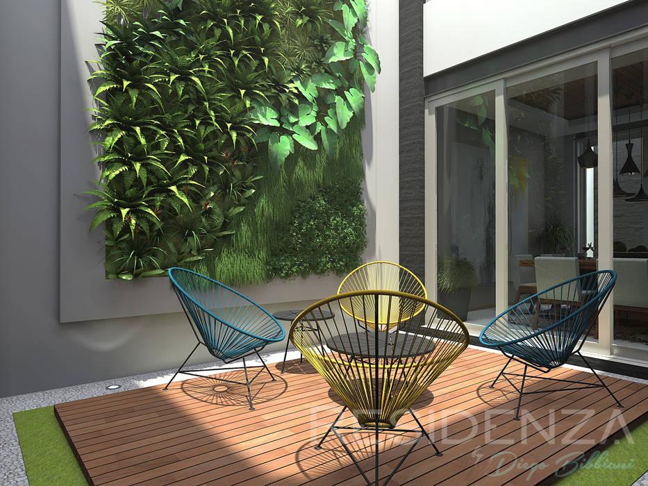 homify Modern garden Wood Wood effect