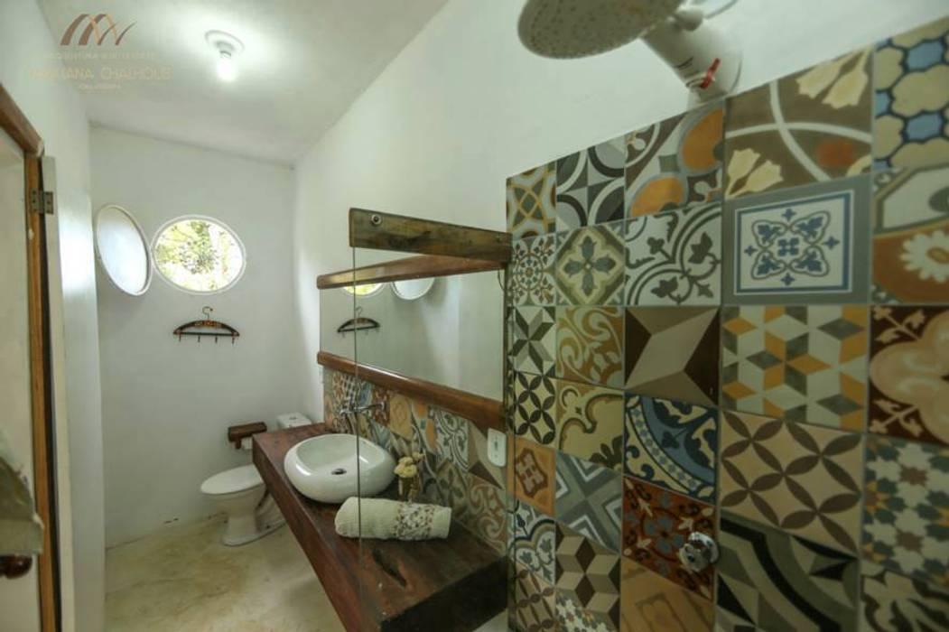Casas de banho  por Mariana Chalhoub,