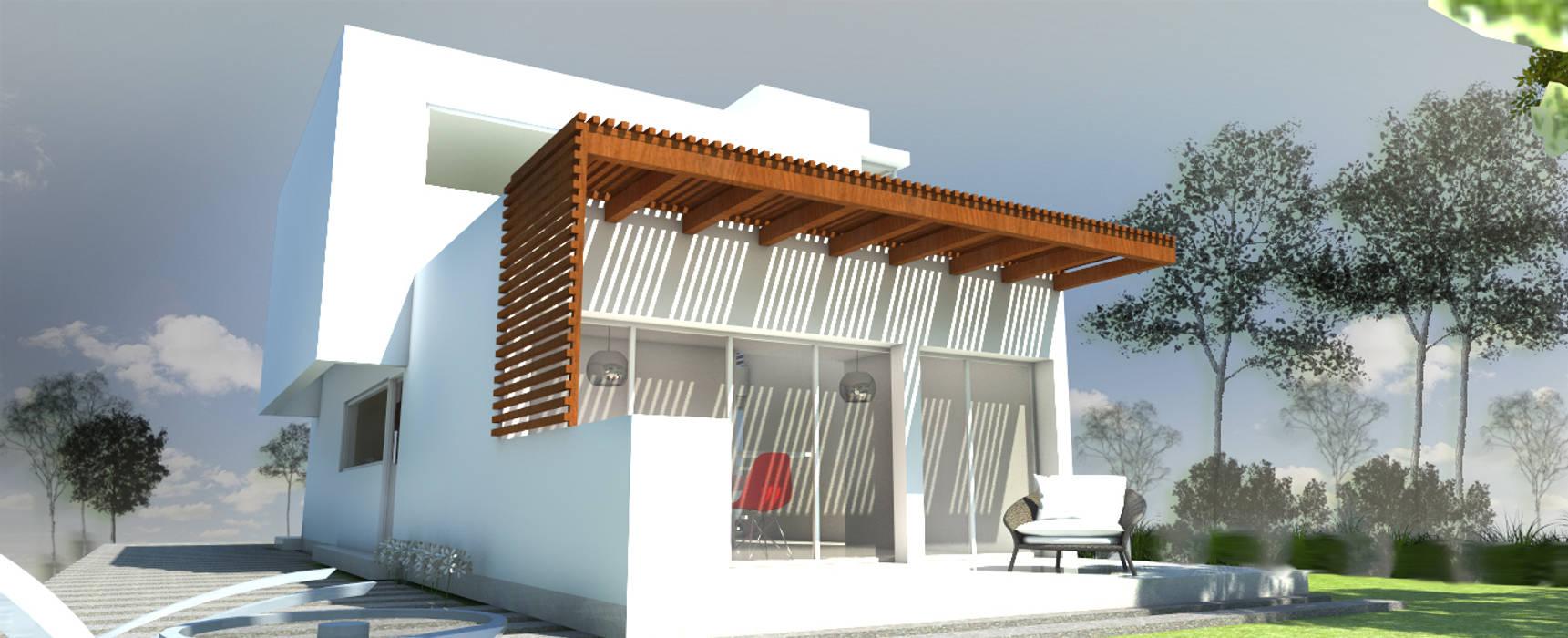 Moderne Häuser von Arquitecta Obadilla Modern