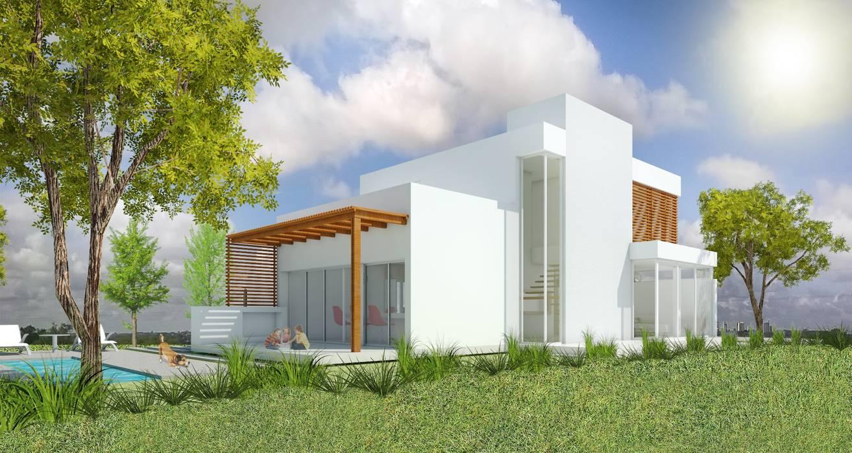 Häuser von Arquitecta Obadilla, Modern