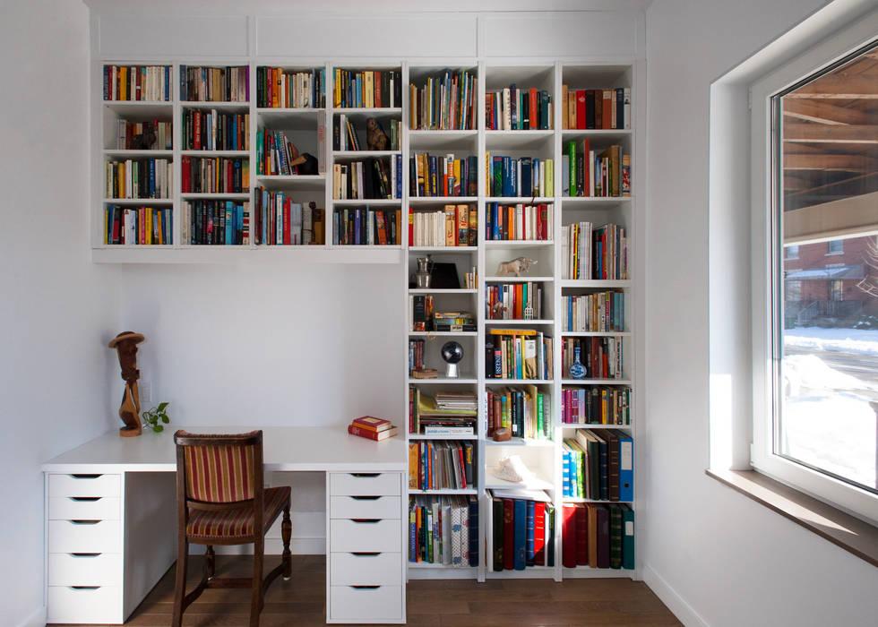 Estudios y despachos minimalistas de Solares Architecture Minimalista