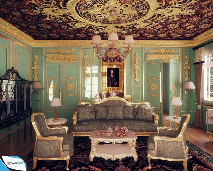 Classic style living room by Gustavo Bispo designer Unipessoal LDA Classic
