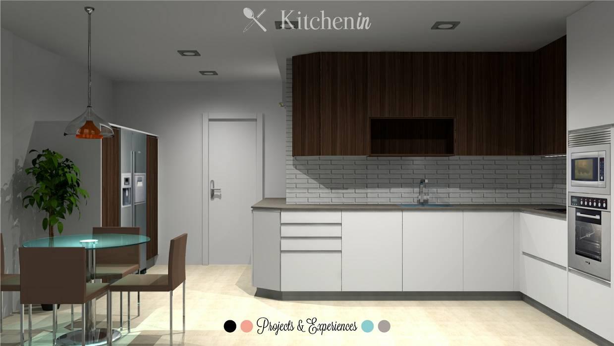Cozinha CS: Cozinhas  por Kitchen In,
