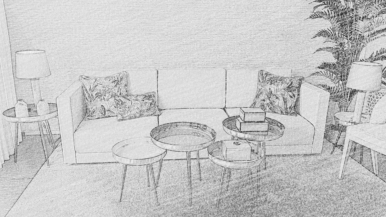 Sala Estar: Salas de estar  por ROSA PURA HOME STORE,