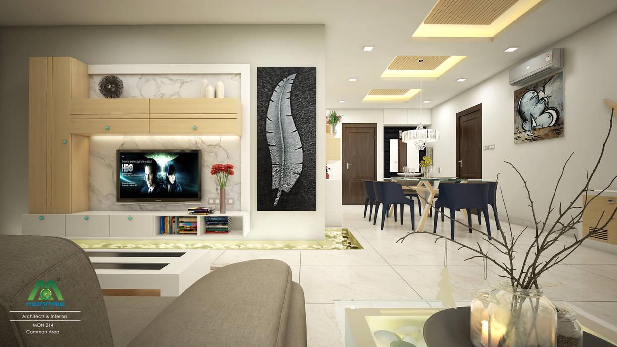 غرفة المعيشة تنفيذ Premdas Krishna , كلاسيكي
