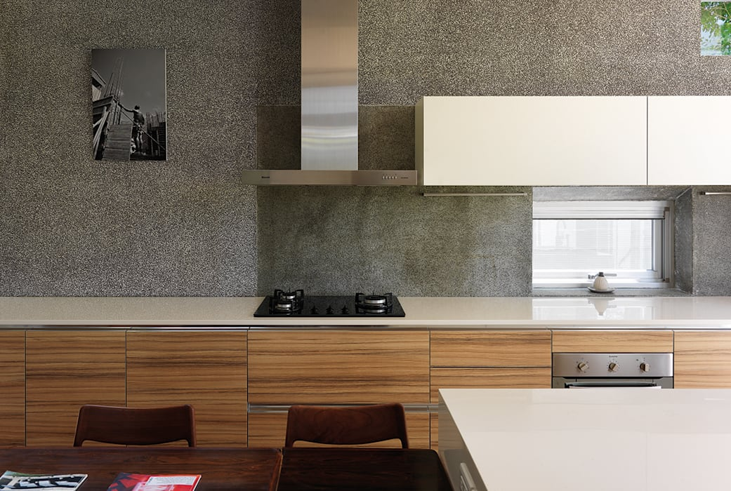 Kitchen by 前置建築 Preposition Architecture