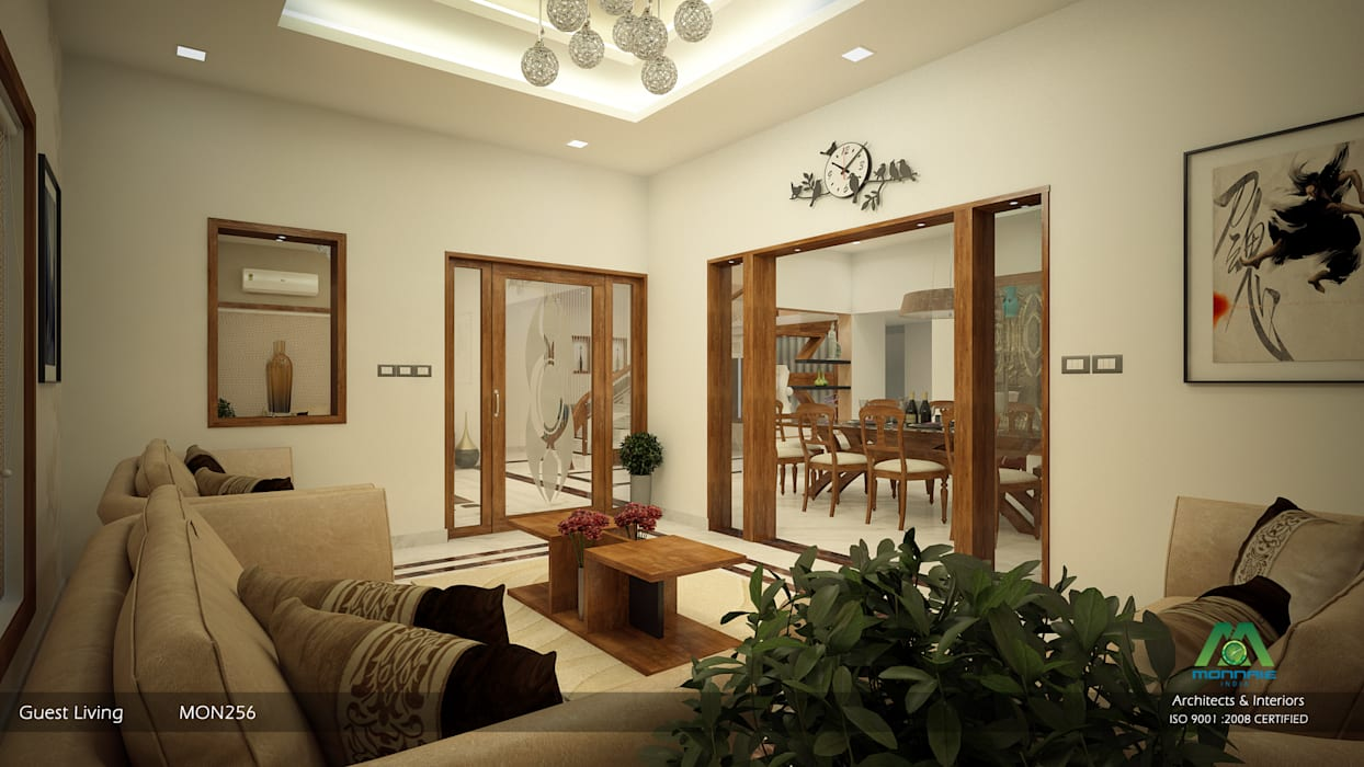 Classic style living room by Premdas Krishna Classic