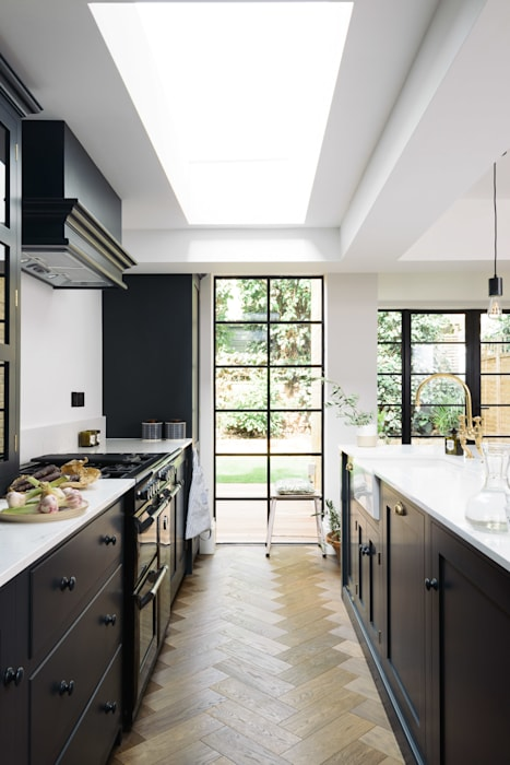 The Wandsworth Kitchen by deVOL : industrial Kitchen by deVOL Kitchens