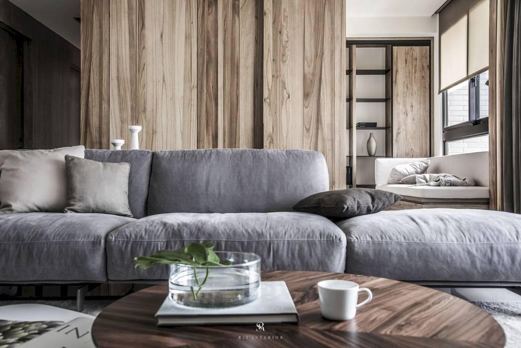 森.光景|Wood-Scape: 斯堪的納維亞  by 理絲室內設計有限公司 Ris Interior Design Co., Ltd., 北歐風