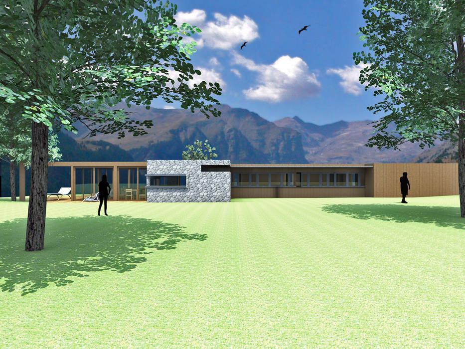 CASA MISLE: Casas de estilo  por Arc Arquitectura