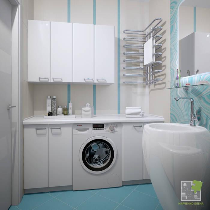Ванные комнаты в . Автор – Елена Марченко (Киев),