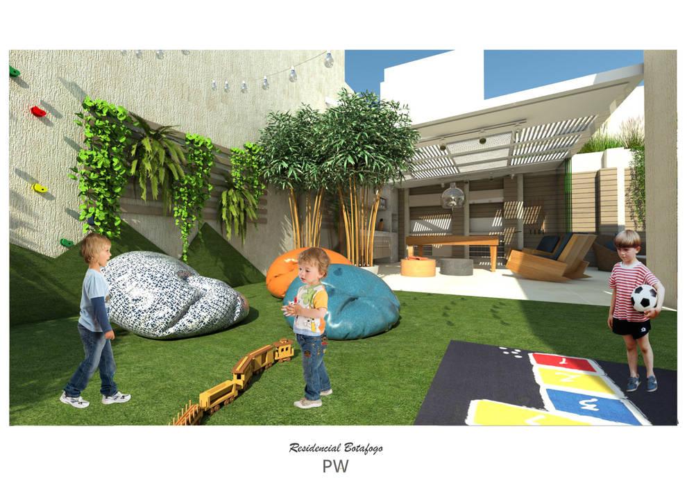 Minimalistischer Garten von Paula Werneck Arquitetura Minimalistisch