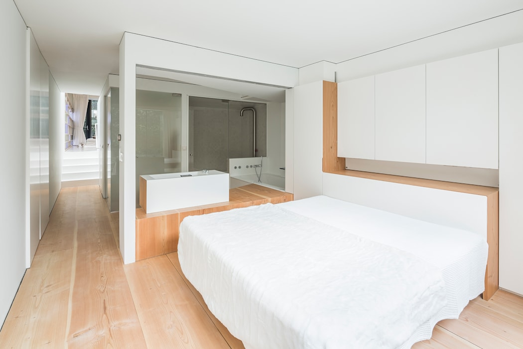 minimalistic Bedroom by Your Architect London