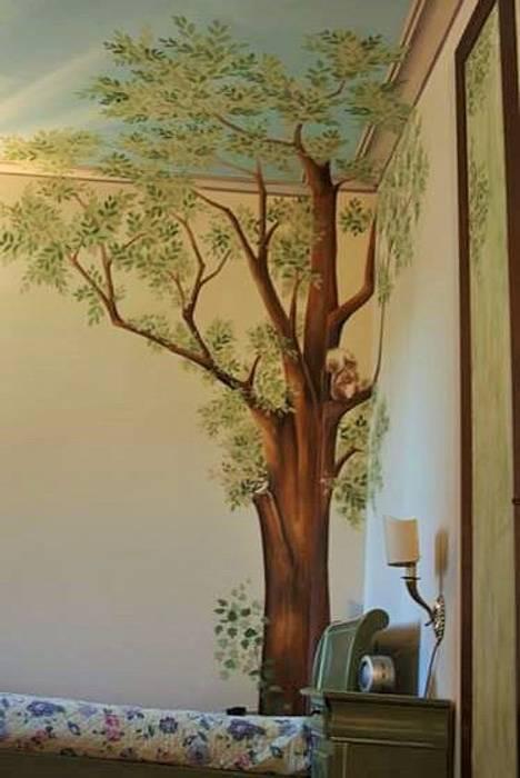 Decorazione  stanza classica: Pareti in stile  di  Decoration and Fine Art