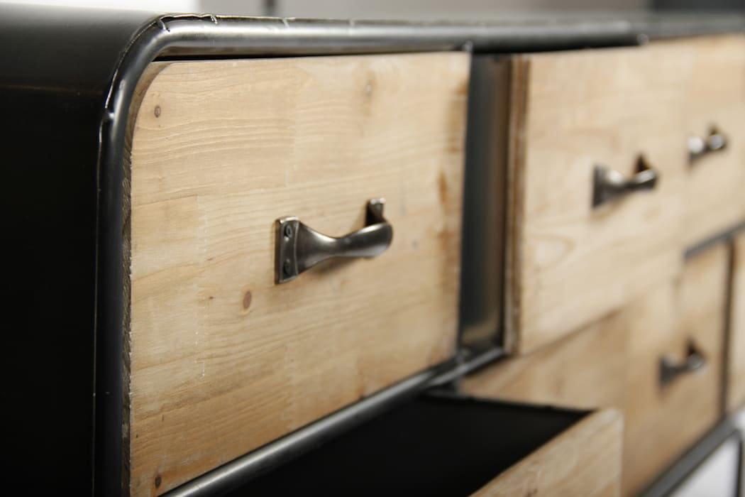 La Boutique Paris Living roomCupboards & sideboards Wood Grey