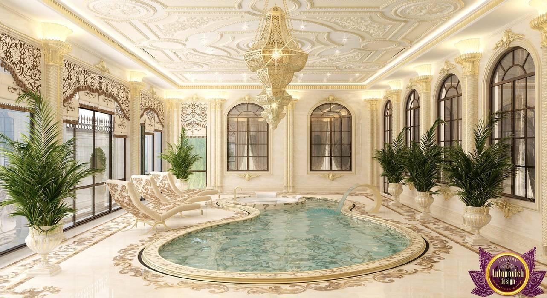 Kitchen Design Usa By Katrina Antonovich: Luxurious Pool Design From Katrina Antonovich: Pool By