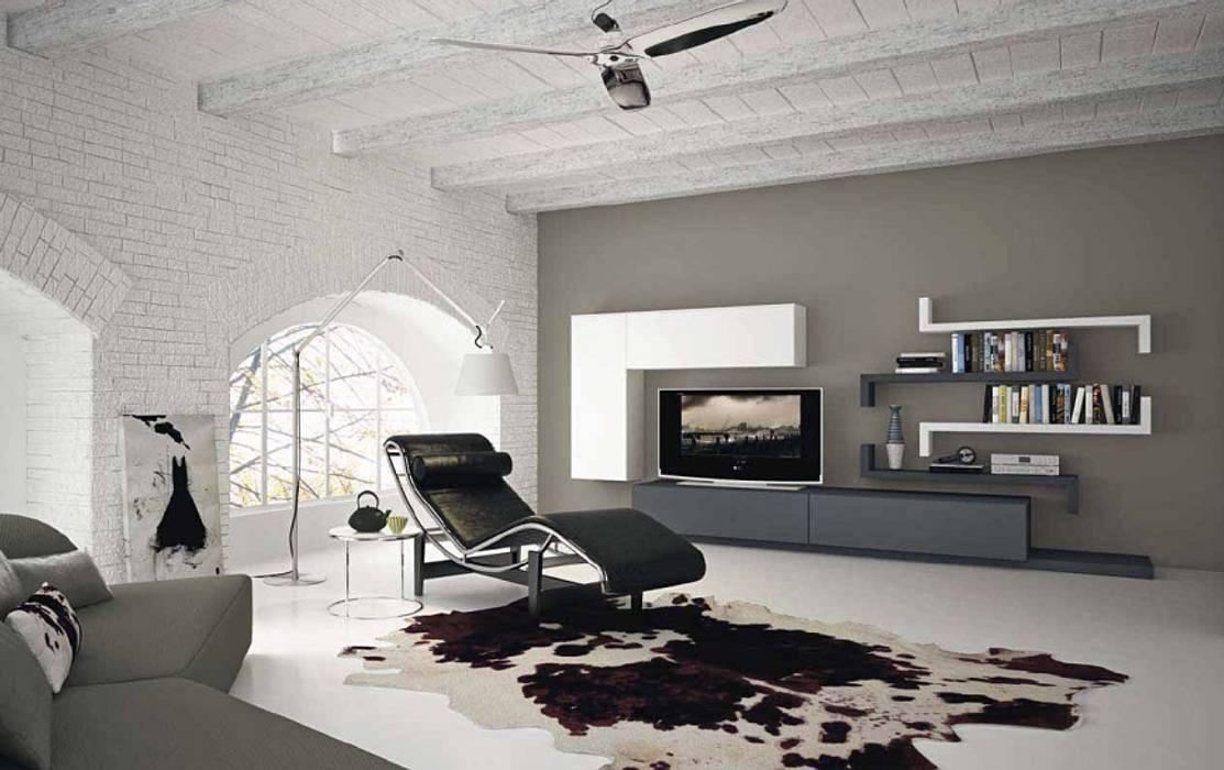 Arredo moderno soggiorno: soggiorno in stile di arredamenti roma ...