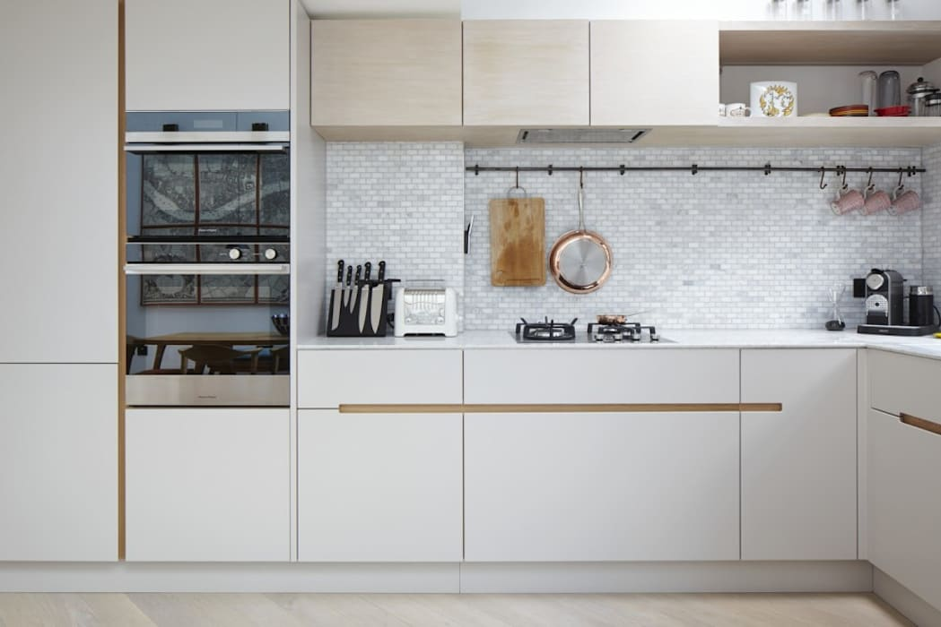 Kitchen by Fraher and Findlay, Modern