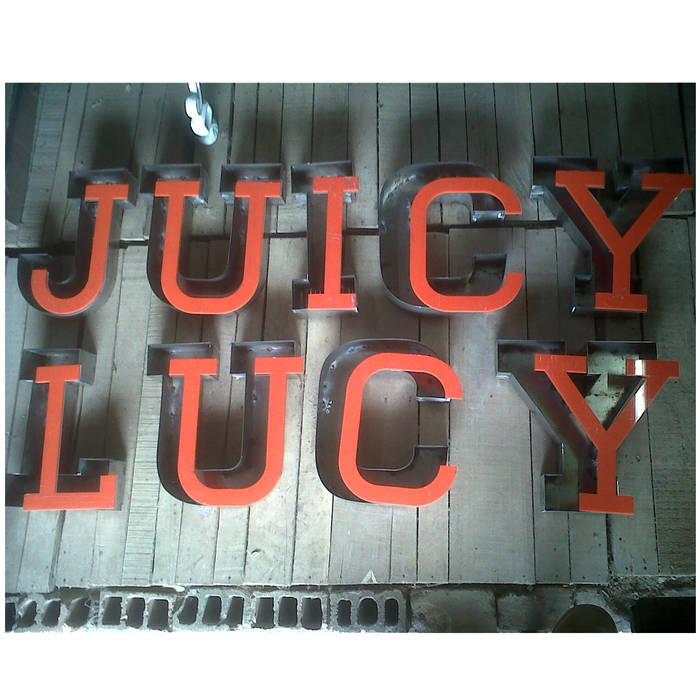 JUICY LUCY _ Plaza Pakita: Locales gastronómicos de estilo  por @tresarquitectos
