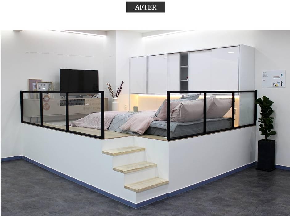 뚱발 프로젝트: 모린홈의  침실