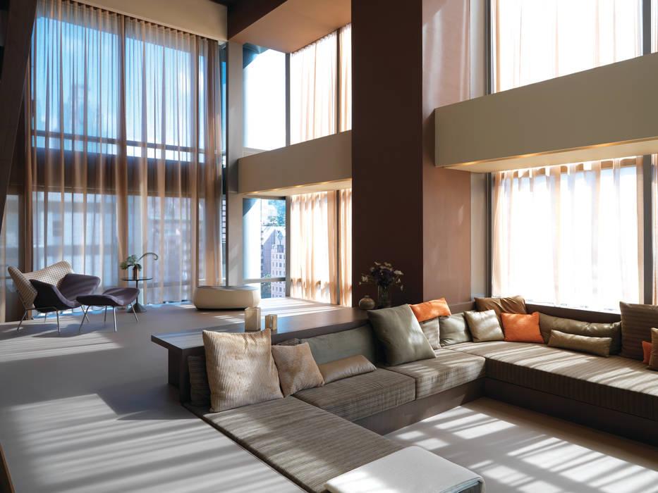 Wohnzimmer von  何侯設計   Ho + Hou Studio Architects ,