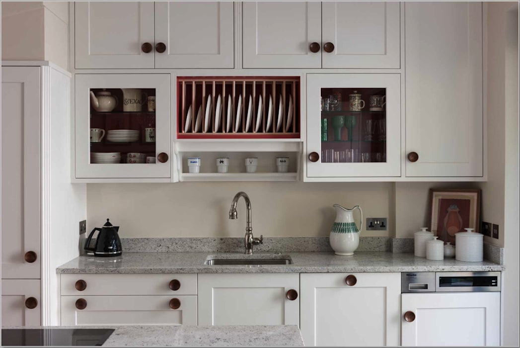 Organised space:  Kitchen by Greengage Interiors