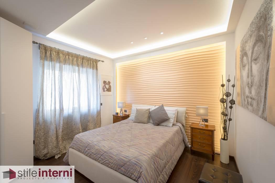 Camera letto matrimoniale: camera da letto in stile di stile interni ...