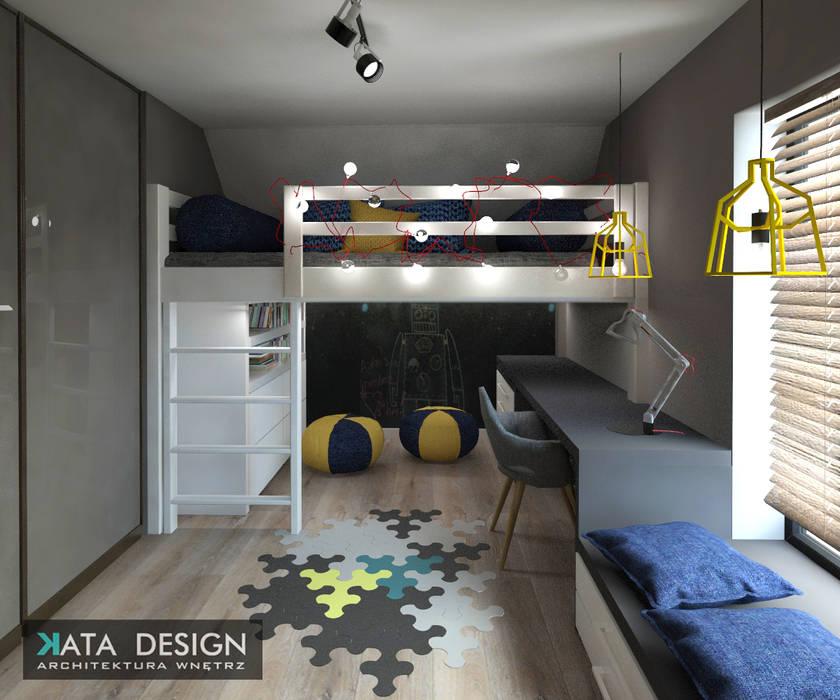 Dom : styl , w kategorii Pokój dziecięcy zaprojektowany przez Kata Design