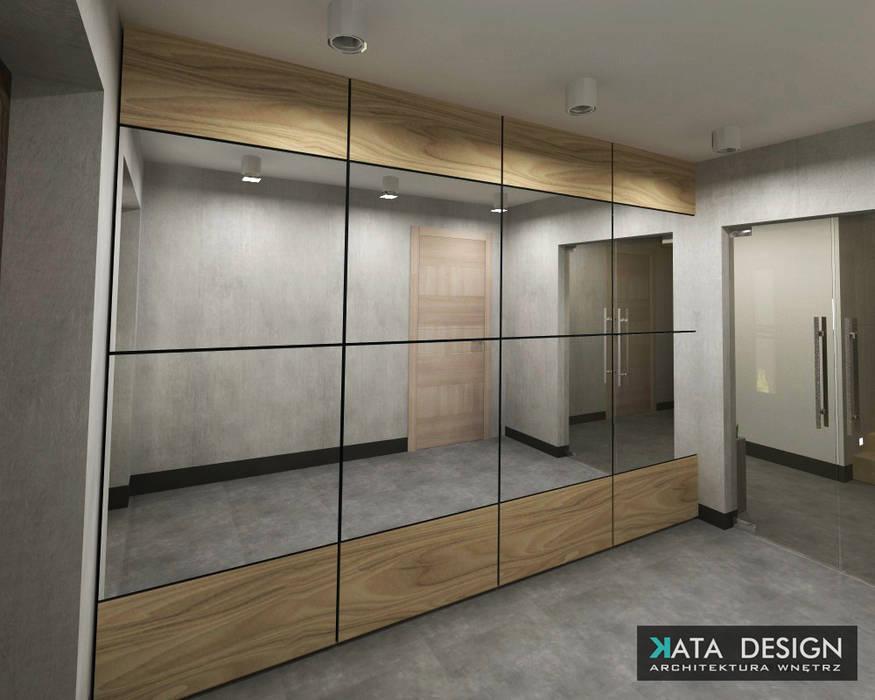 Dom Minimalistyczny korytarz, przedpokój i schody od Studio4Design Minimalistyczny