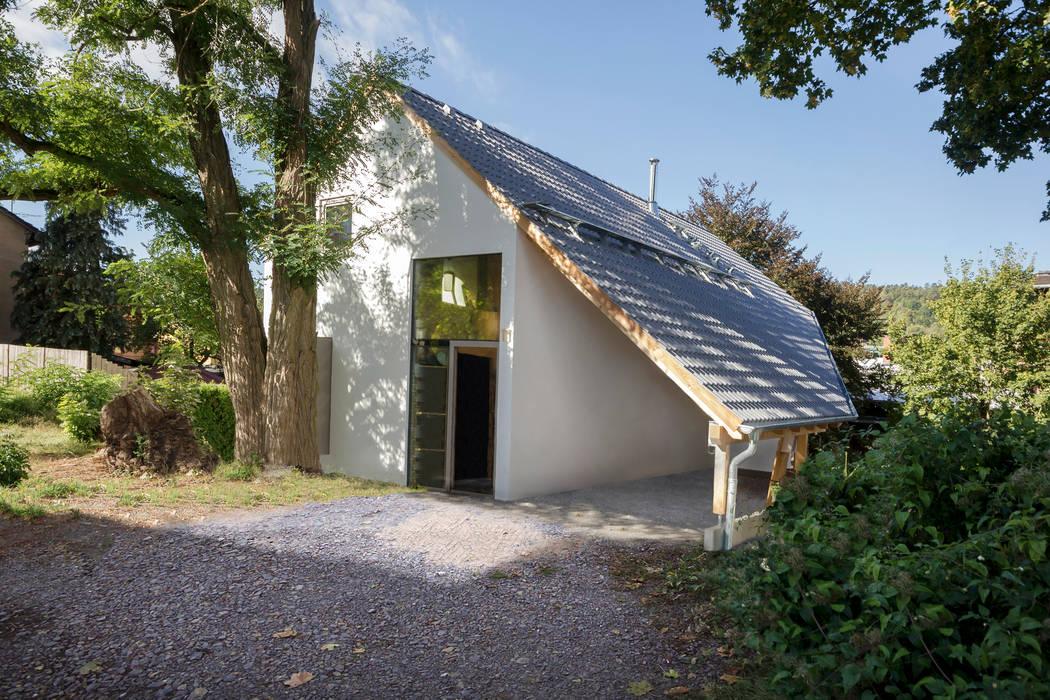 Planungsgruppe Korb GmbH Architekten & Ingenieure Rumah Modern Kayu White