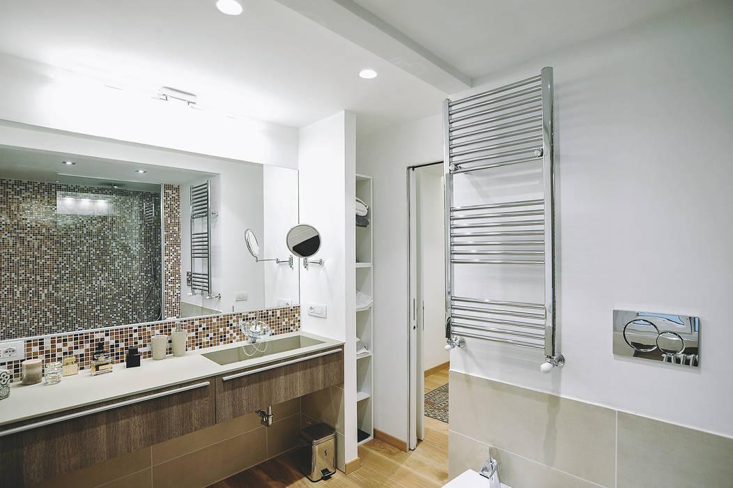 Ristrutturazione completa appartamento a roma bagno in stile di