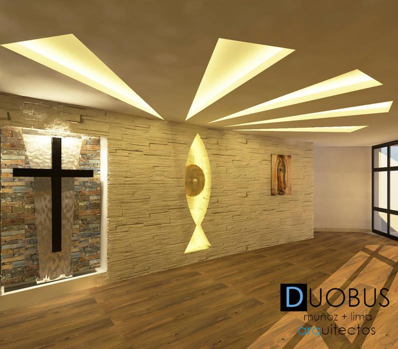 remodelación capilla de adoracion perpetua: Salas de estilo moderno por DUOBUS M + L arquitectos
