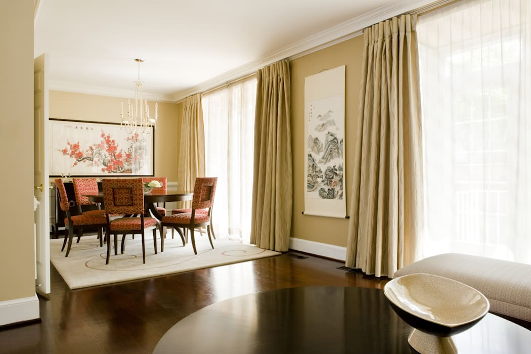 Shanghai Chic - Dining Room Asian style dining room by Lorna Gross Interior Design Asian