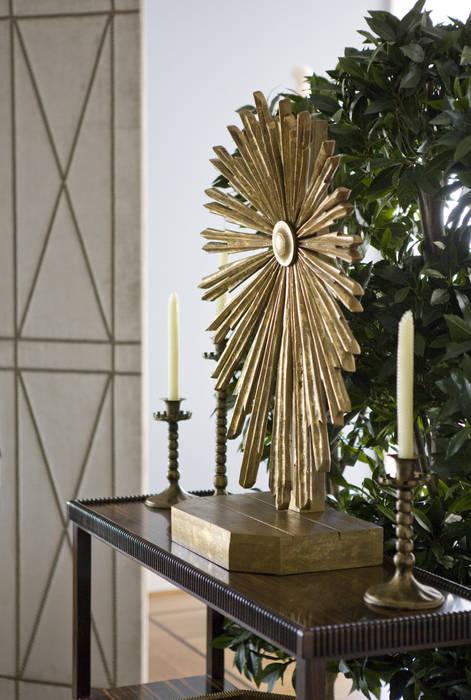Eclectische woonkamers van Lorna Gross Interior Design Eclectisch