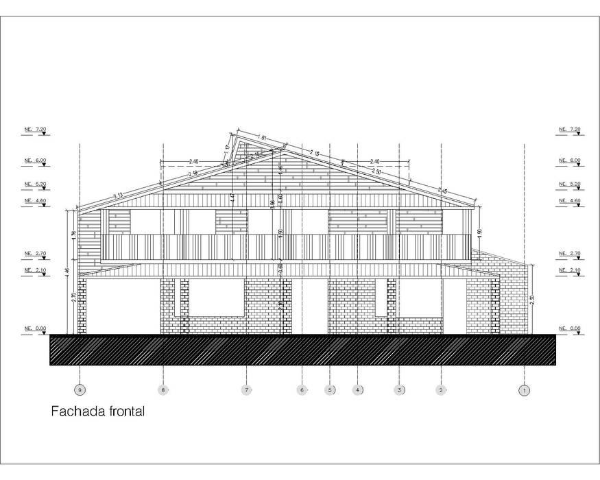 CASA DE CAMPO GUARNE_ Casas de estilo clásico de @tresarquitectos Clásico