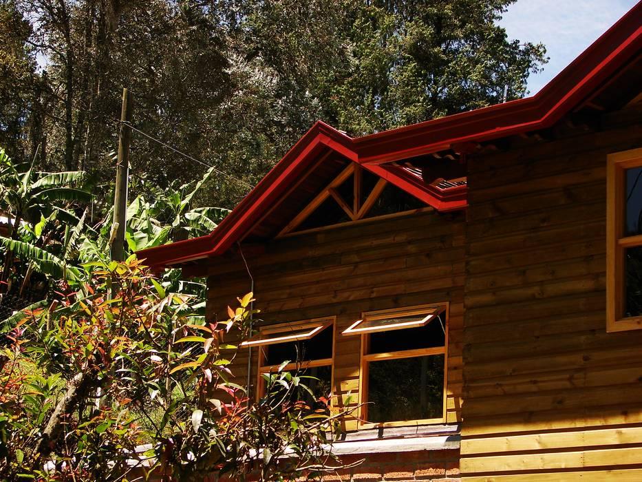 CASA DE CAMPO GUARNE_ : Casas de estilo  por @tresarquitectos
