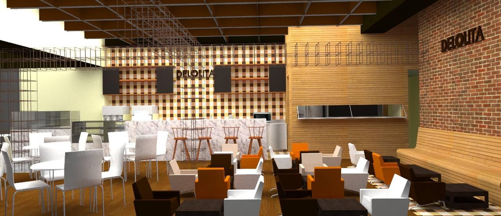 CAFÉ DE LOLITA _ Anfitrión: Locales gastronómicos de estilo  por @tresarquitectos