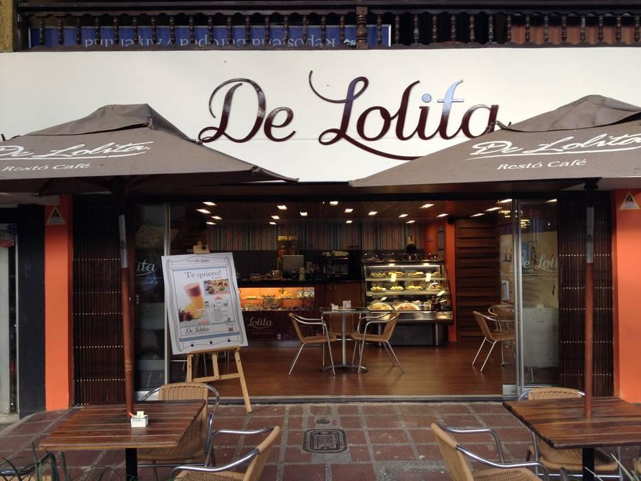 De Lolita _ Divina Eucaristia: Locales gastronómicos de estilo  por @tresarquitectos, Moderno