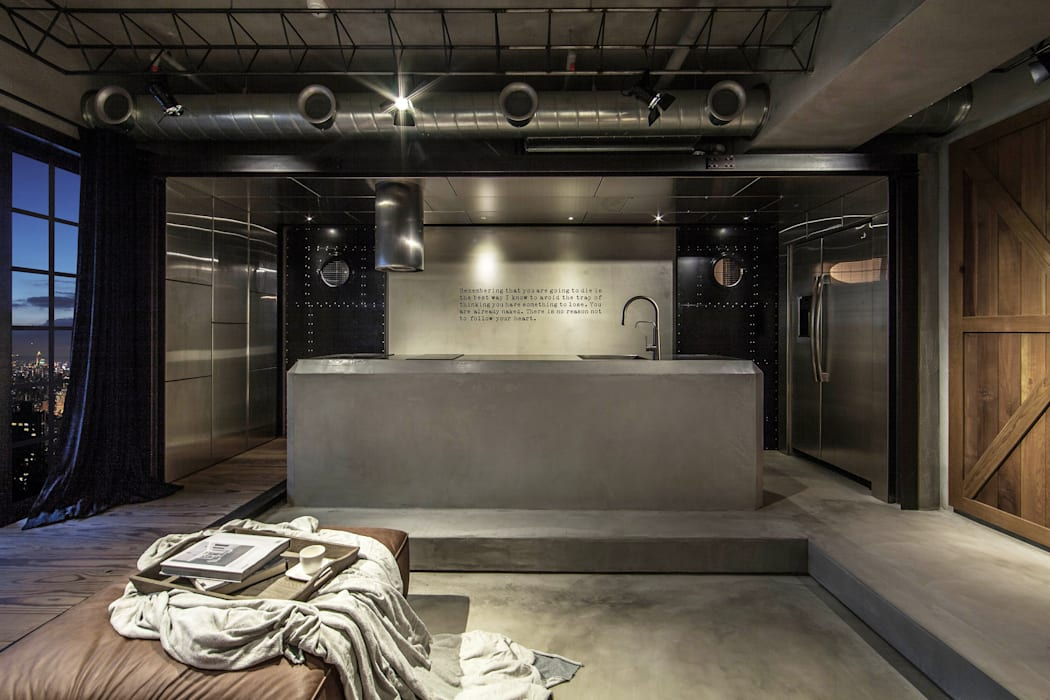 Living room by 璧川設計有限公司, Industrial