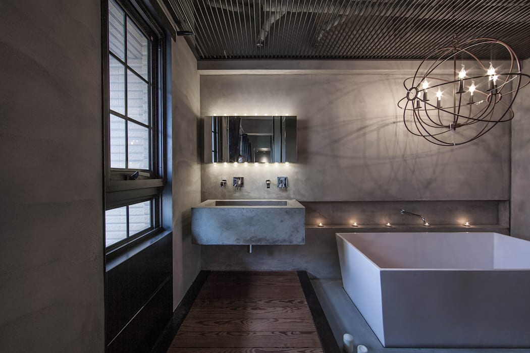 Bathroom by 璧川設計有限公司