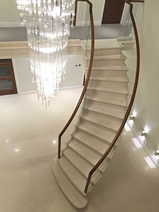 Post tensioned stone staircase Boss Stairs Limited Tangga Batu Kapur