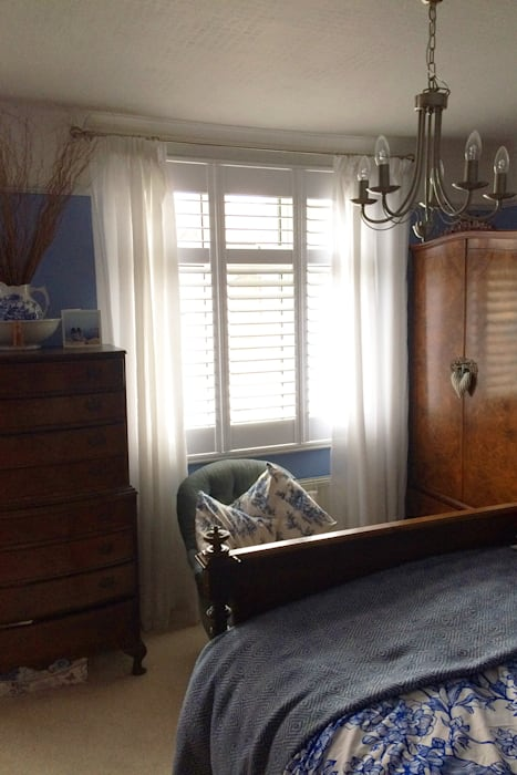 Full Height Shutters For Bedroom Windows: Classic Bedroom By Plantation  Shutters Ltd