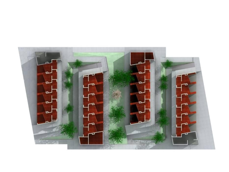Centro de Bienestar Animal [La Perla] @tresarquitectos Bodegas de estilo moderno