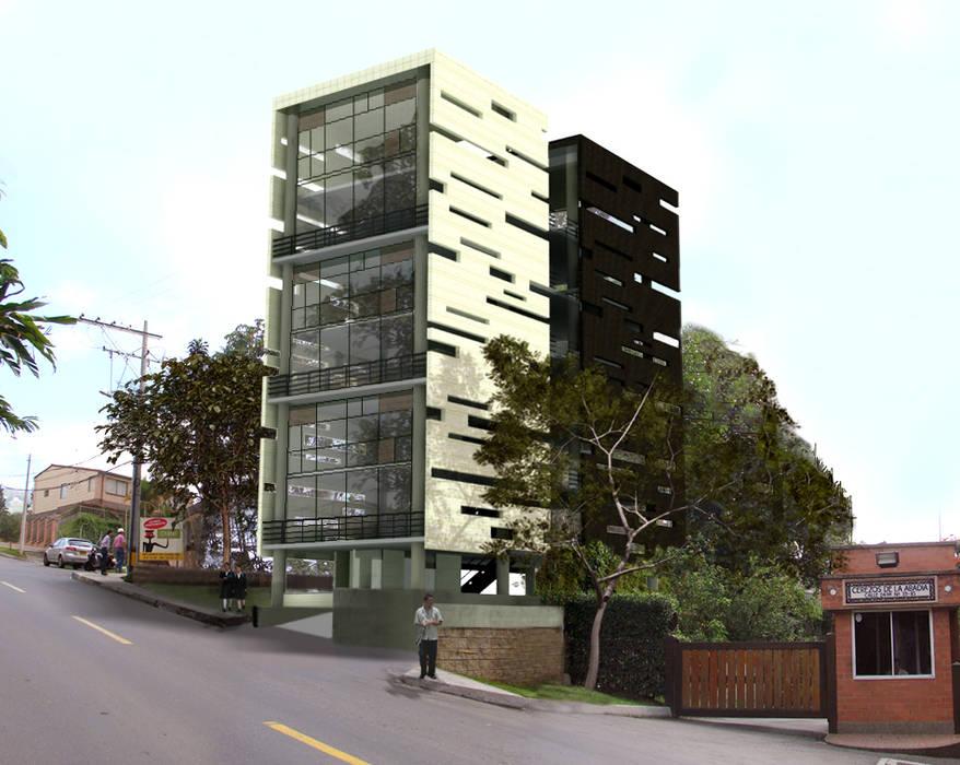 L _ 24 - Sur _ Apartamentos Lofts: Casas de estilo  por @tresarquitectos