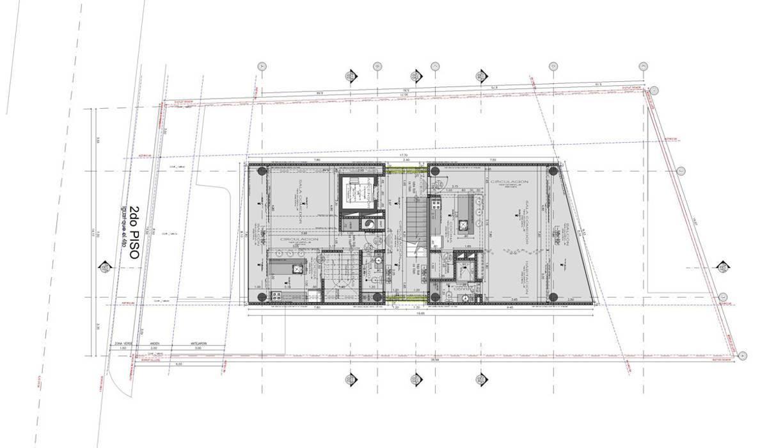 L _ 24 - Sur _ Apartamentos Lofts: Casas de estilo  por tresarquitectos