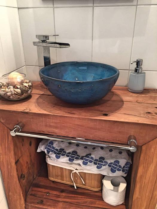 Casa Vichuquén: Baños de estilo  por AtelierStudio, Moderno