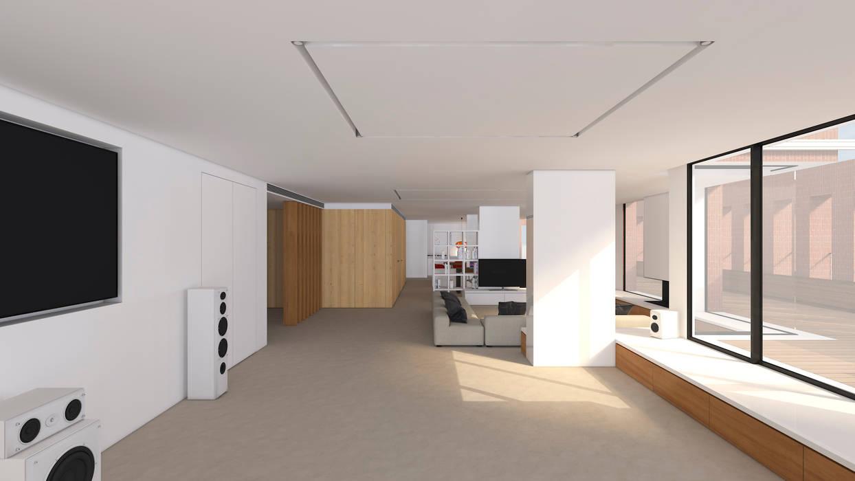 by A2 arquitectura interior Minimalist
